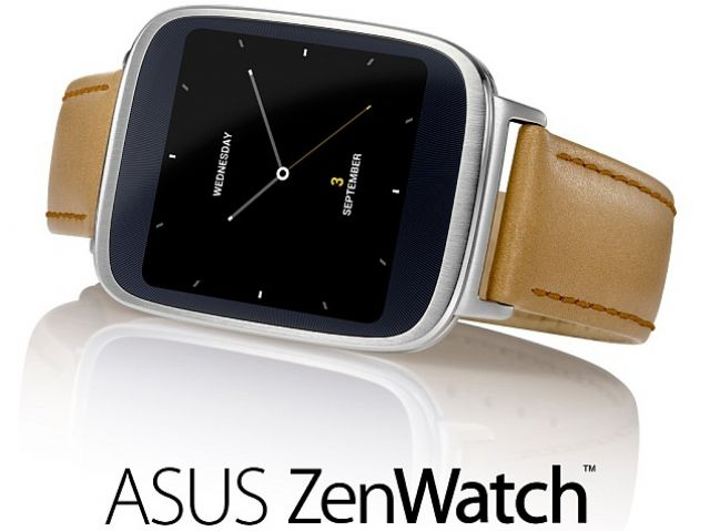 ASUS ZenWatch, a new product that ASUS is betting on to drive growth. (photo from Internet)