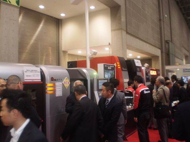 Amada demonstrated several new machining centers designed to fill the demand for process integration.
