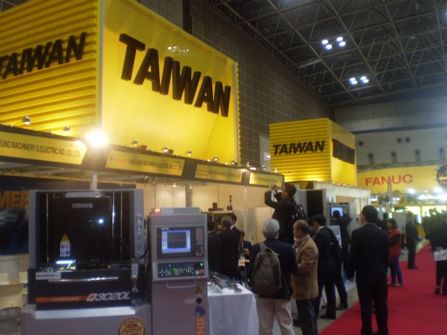Taiwan was the largest participating foreign country at this year's JIMTOF.