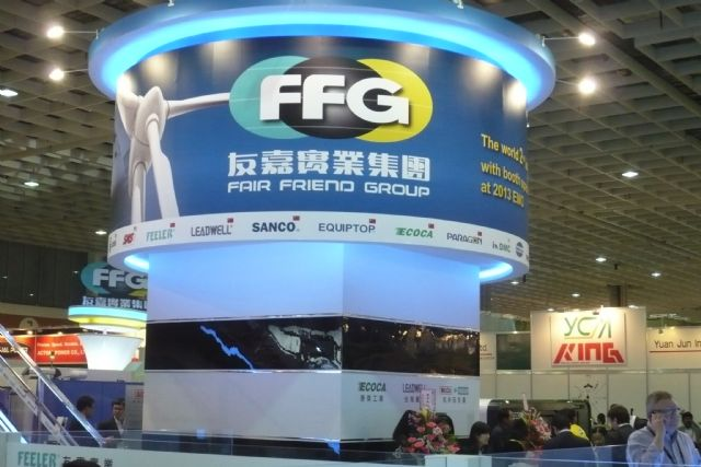 Major machine tool maker FFG to go public in Taiwan by 2017.