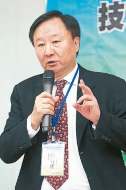 Duan Xing-jian, chairman of Innolux, the largest maker of TFT-LCD panels in Taiwan. (Photo from UDN)