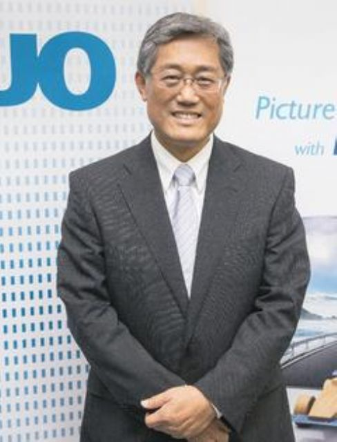 AUO's chairman K.Y. Lee. (photo from UDN)