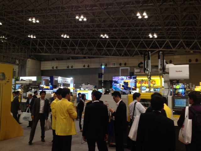 Fanuc was the most impressive exhibitor of robots at the show.