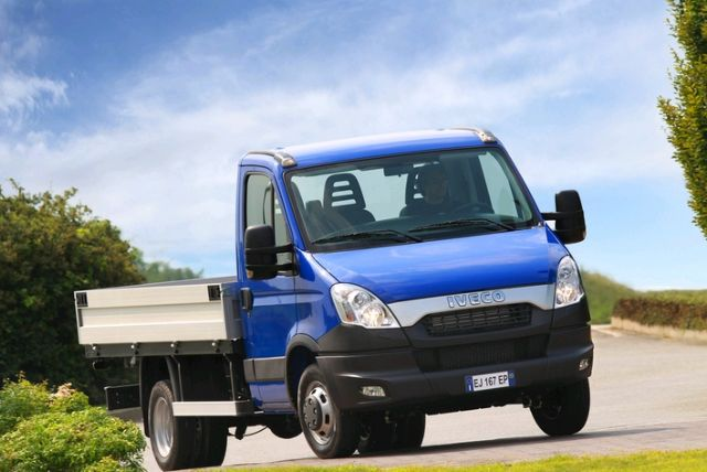 FPTC plans to locally assemble the IVECO Daily light trucks. (Photo from IVECO Taiwan)