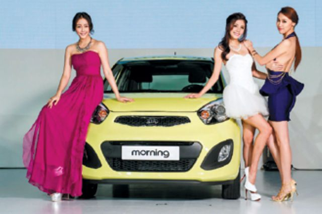 Kia Taiwan recently launched the Morning sub-compact, which is locally assembled by Taiwan's Sanyang. (photo from UDN)