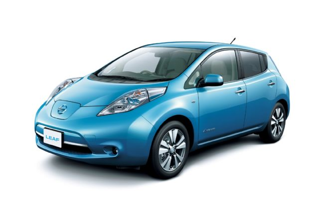The Nissan LEAF, the world's best-selling EV. (photo from Renault-Nissan)