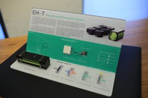 ITRI's Energy Harvesting Thermal-Electric Generator and its core structure.