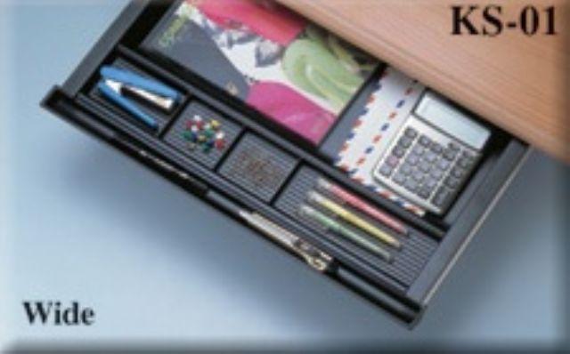Contong's KS-01B Under Desk Plastic Pencil Drawer.