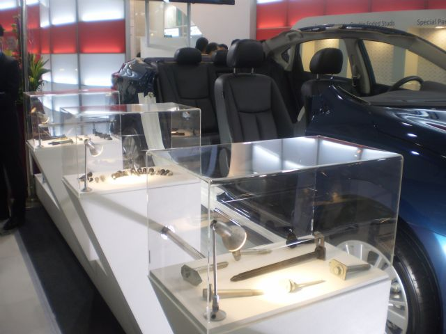Fasteners for cars are currently the major growth engine in Taiwan's fastener industry.