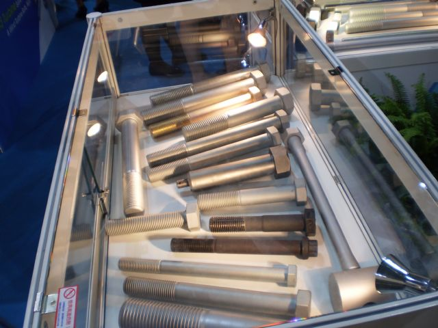 Taiwanese makers are now able to make fasteners at the quality level required for wind turbine use.
