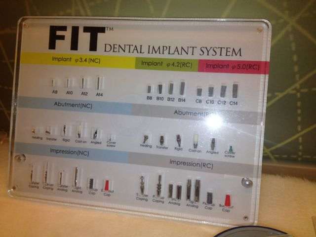 The FIT Dental Implant System highlights MIRDC's achievement in developing micro-manufacturing technologies to upgrade Taiwan's fastener industry.