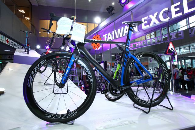 Taiwan's higher-end bicycles enjoy increasing global market share.(photo provided by TAITRA).