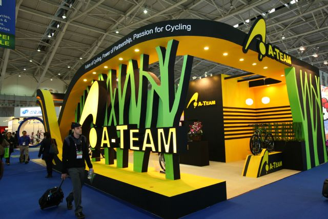 Giant and Merida together lead the A-Team, an alliance of bicycle makers and parts suppliers in Taiwan. (photo courtesy of Taipei Cycle Show 2014)