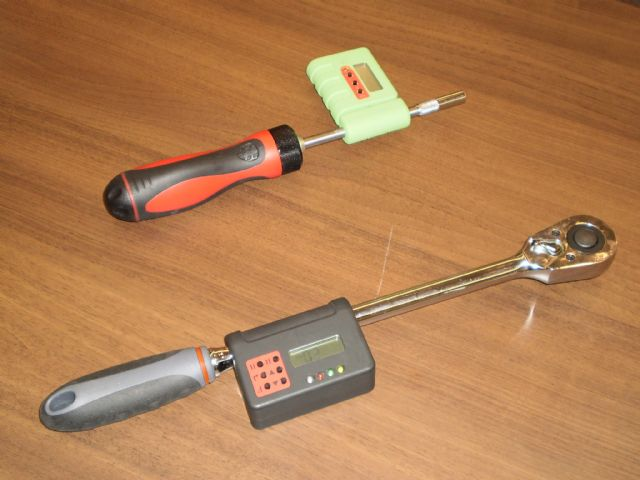 The prototype of Taiwan's first digital torque wrench was developed by ITRI.