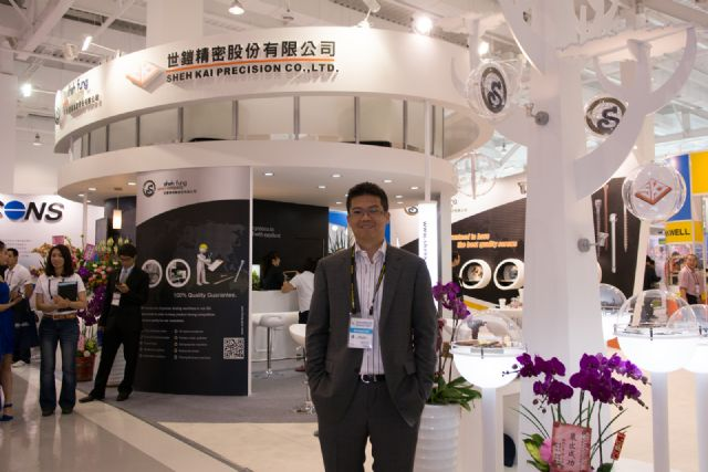 Sheh Fung's general manager, Kent Chen, emphasizes that Taiwanese fastener makers should upgrade management to digitization.