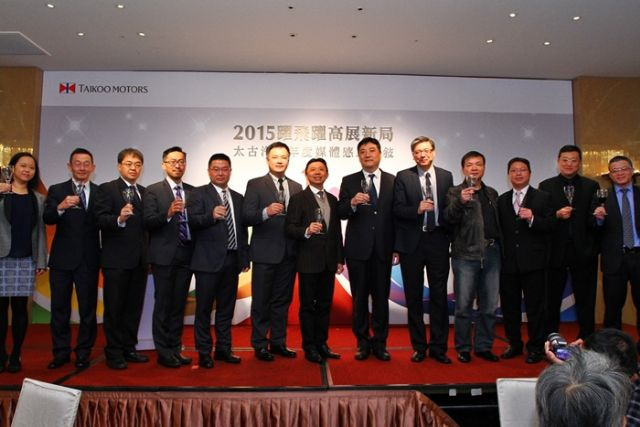 Caption 1: Mike Hsieh (sixth from left), executive director of Taikoo, and top management of Taikoo affiliates jointly announced the group's multi-brand operation strategy. (Photo from UDN)