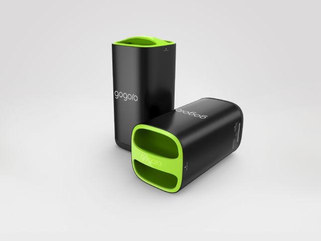 The Gogoro battery packs. (photo from Gogoro)