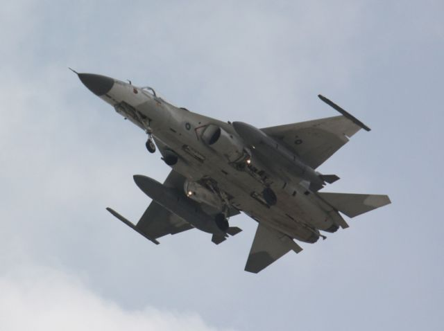 The IDF is Taiwan's first homegrown fighter, mainly developed by AIDC. (photo courtesy of Wikipedia).