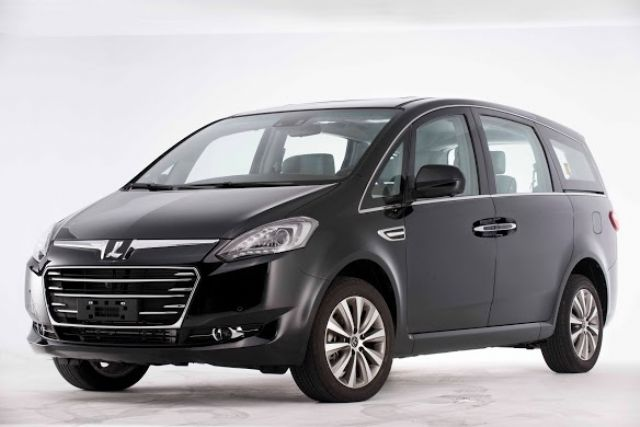 Yulon aims to sell some 80,000 of its own line of Luxgens in Taiwan and China in 2015, also expecting even-higher revenue and earnings. (a Luxgen MPV shown)