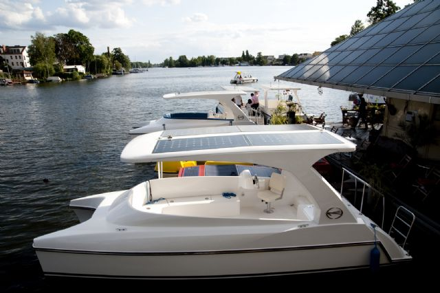 Solar-powered motor yachts are a rising trend in the global market.