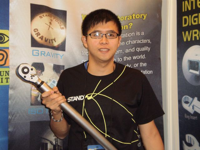 Stand Tools's manager Brand Hsiao