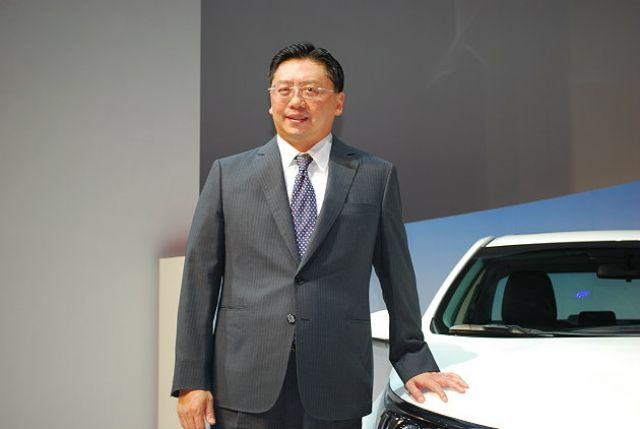 Justine Su, president of Hotai, Taiwan's agent of Toyota and Lexus and No.1 auto vendor in Taiwan for 15 years in a row. (photo from UDN)