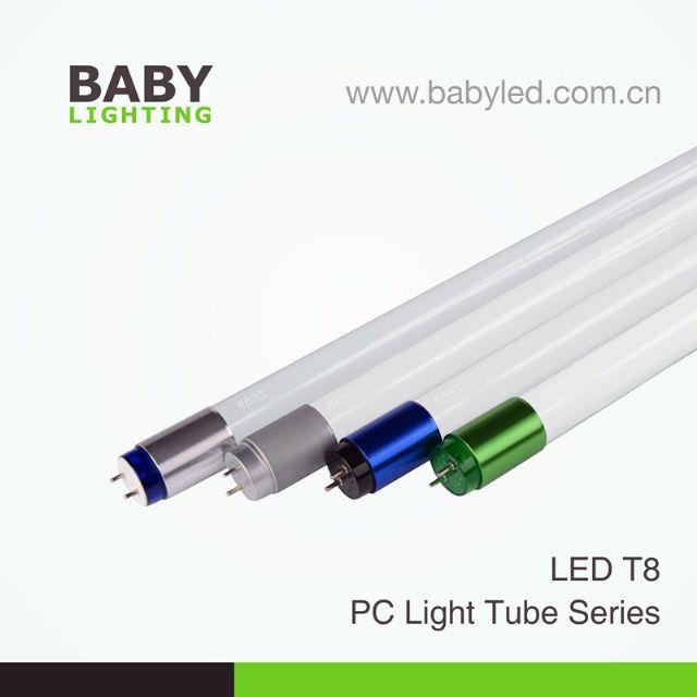 LED Whole PC Light Tube