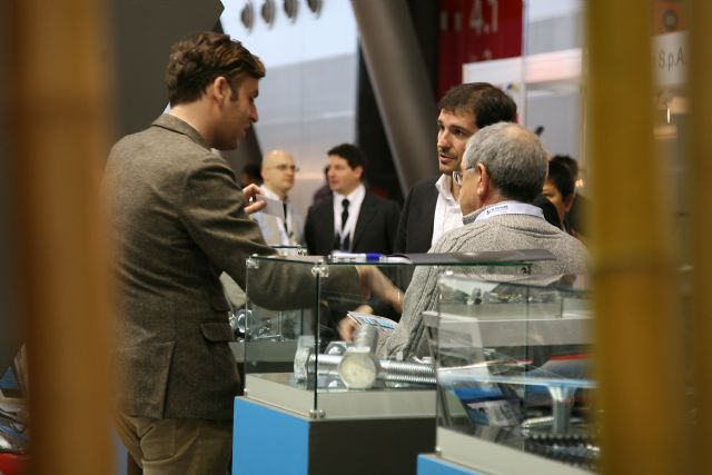 The Fastener Fair Stuttgart 2013 set a record in both visitor and exhibitor numbers. (photo courtesy of Mack Brooks Exhibitions)