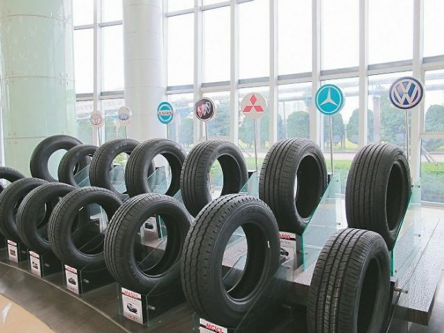 Most Taiwanese tire makers with operations in China claim to be prepared for antidumping duties by U.S. on Chinese tires. (photo from UDN)