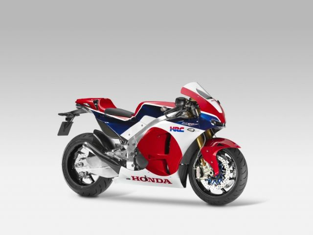 "The Honda RCV1000R ""production racer"". (photo from Honda)"