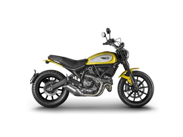 Ducati Scrambler is a new classic-style monster model expected to win flooding orders from baby boomers. (Photo from Ducati)