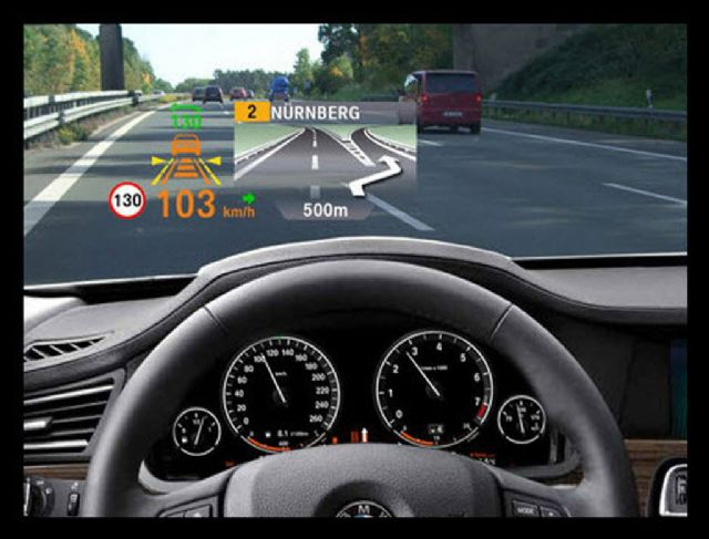 ABI Research says that almost one-third of consumer vehicles shipped in 2024 will be equipped with some form of HUD. (photo from Internet)