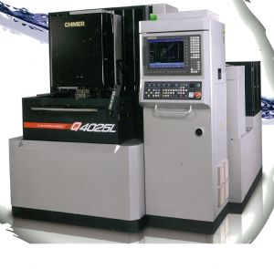 CHMER`s high-precision wire cut EDM is perfect to make molds for aircraft industry