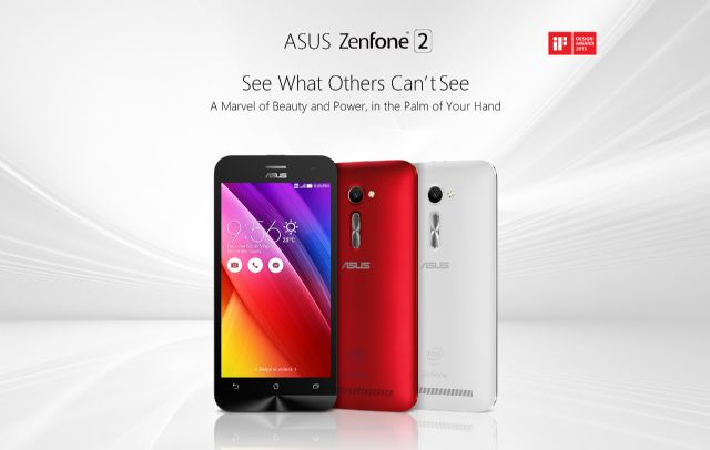 """Asus' new ZenFone 2 still adopts """"affordable luxury"""" strategy. (photo from Asus)"""