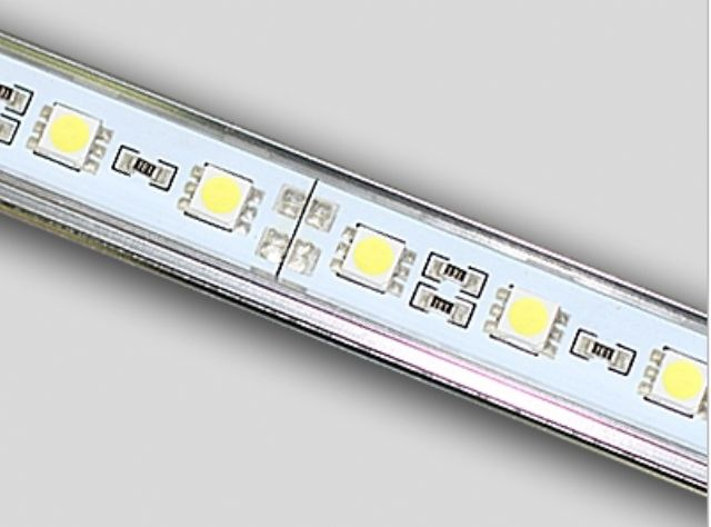 A sample LED strip from Shengzhen LEDSigns Technology.