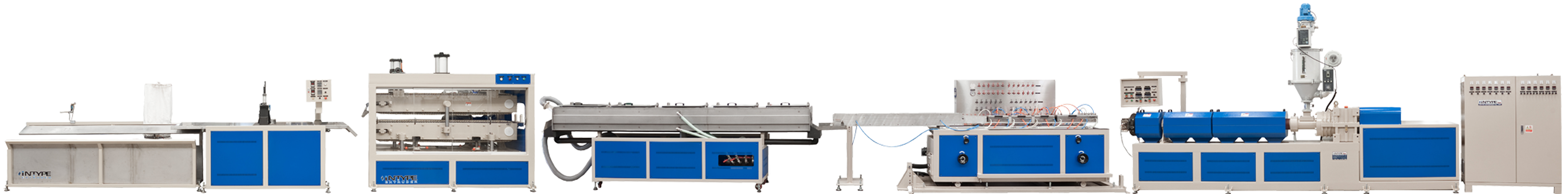 TPE(Thermoplastic Rubber) Wood-Like Profile Extrusion Machine