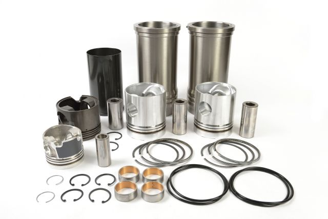Sample pistons, gaskets, etc. from Maxfu Industrial.