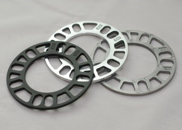 Sample wheel spacers from Techwell Industrial.