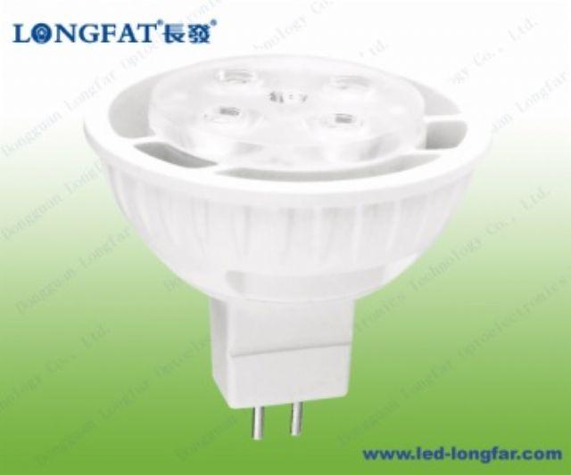 LED spotlight from Dongguan Longfat Optoelectronics.