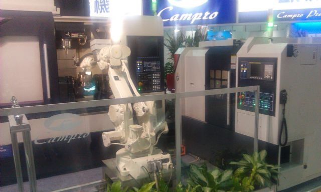 Campro's robotic manufacturing solution.