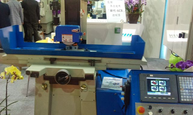 Joen Lih's JL818ADT surface grinding machine uses linear motion drive.