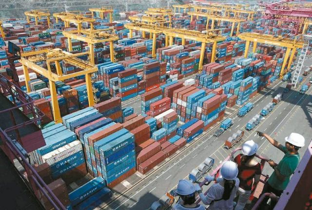 Taiwan's February exports down 6.7% YoY to US$19.86 billion (photo courtesy of UDN.com).