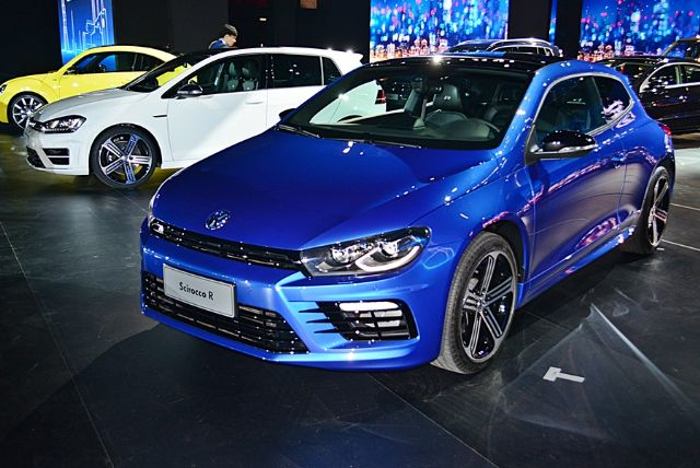 New Volkswagen models available in Taiwan. (photo from UDN)