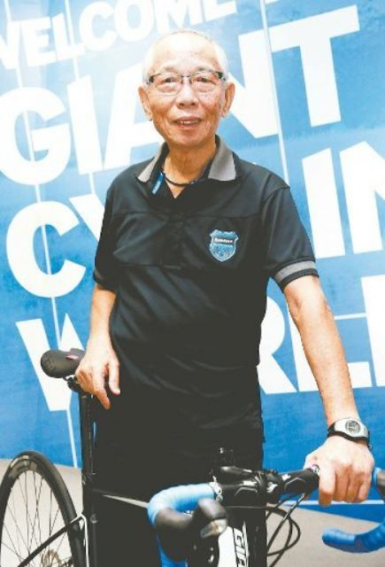 "King Liu is nicknamed ""Godfather"" of Taiwan's bicycle industry and chairman of high-profile bicycle maker Giant. (photo from UDN)"