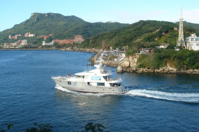 Taiwan's yacht exports totaled US$172 million for a 13.16% growth in 2014 compared to US$152 million in 2013.