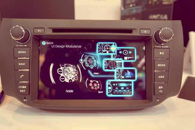 The ultra-integrated vehicle infotainment platform developed by AAA was debuted at 2015 Consumer Electronics Show  in January.