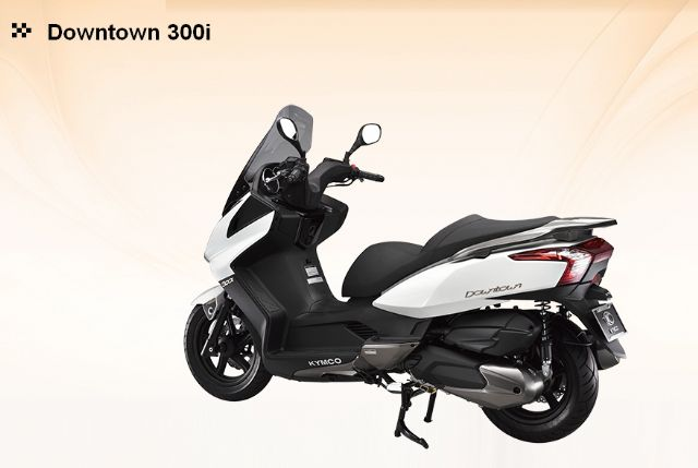 A KYMCO scooter by the No. 1 PTW vendor in Taiwan for the past 15 years straight. (photo from KYMCO)
