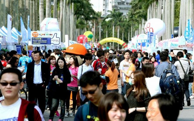 Taiwan's March jobless rate hits 15-year low of 3.72 for the month (photo courtesy of UDN.com).