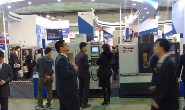 China's buoyant manufacturing industry to drive Taiwan's machine-tool industry.