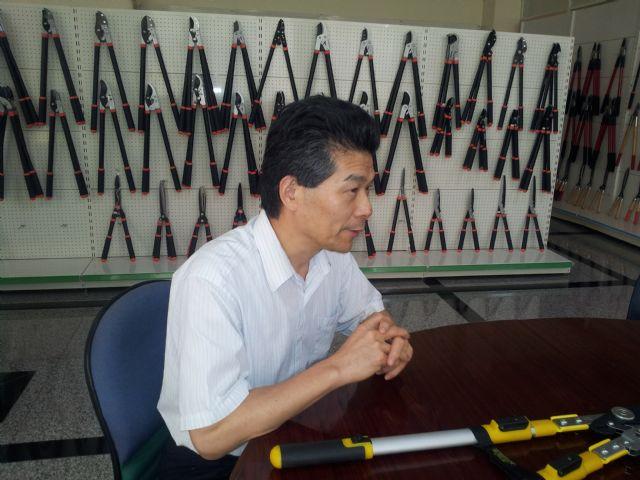 Wise Center chairman Thomas Lin.
